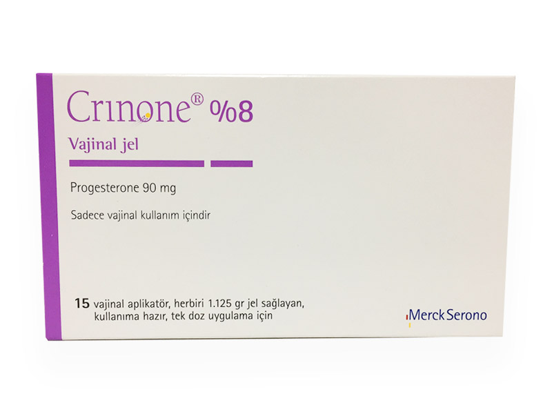 Crinone vaginal: uses, side effects, interactions, pictures.